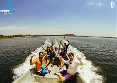 boat trip surfing Nicaragua