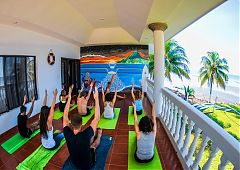 Yoga at Thunderbomb Surf Camp